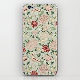 William Morris Cray Floral Pre-Raphaelite Vintage Art Nouveau Pattern iPhone Skin