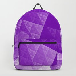 Violet abstract pattern Backpack