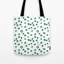 Green Spring Abstract Tote Bag
