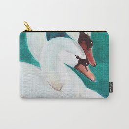Swans Love Carry-All Pouch