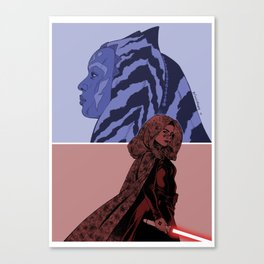 The Wrong Jedi Canvas Print