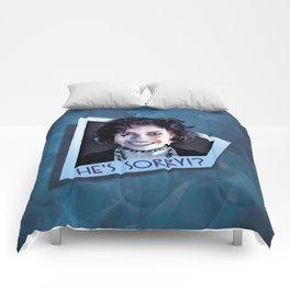He's Sorry!? Comforters
