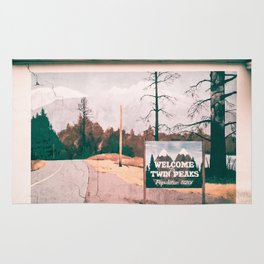 Welcome to Twin Peaks Rug