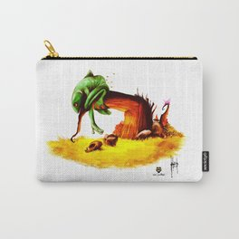 Lazy Frog Carry-All Pouch