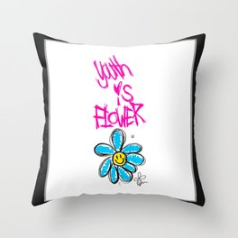 G-Dragon Youth-Flower V1 Throw Pillow