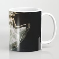 creepy Mugs featuring abyss of the disheartened : IV by Heather Landis