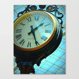 It's About Time Canvas Print