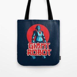 Giant Robot Tote Bag