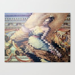 Contorted Canvas Print