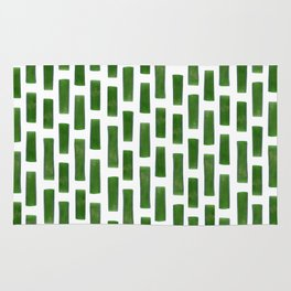 Onion pieces pattern Rug