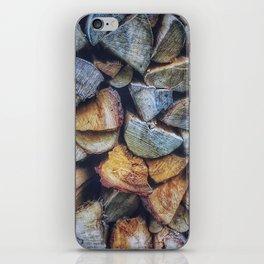 Chopped Blocks iPhone Skin