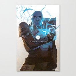 be brave, titan Canvas Print