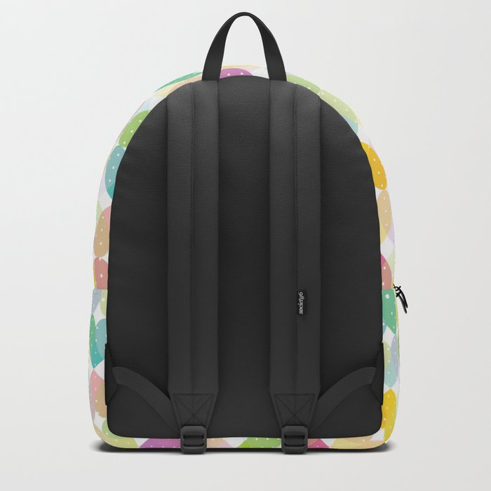 Colorful Sweet Candy Heart Pattern I Backpack