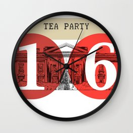 Tea Party White House 2016 Wall Clock