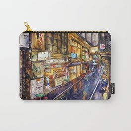 Melbourne Streetscape Carry-All Pouch