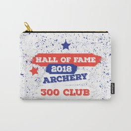 ARCHERY HALL OF FAME 300 CLUB 2018 Carry-All Pouch