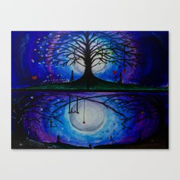 The Game of Life 4 Seasons Canvas Print