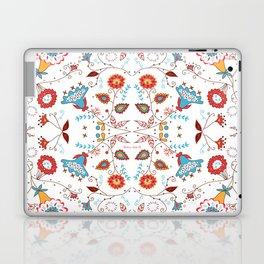 Spice Garden on White Laptop & iPad Skin