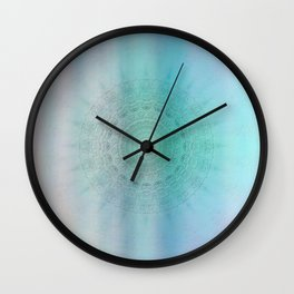 Mandala sensual light Wall Clock