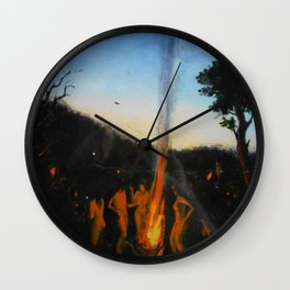 Summer Sabbath Wall Clock