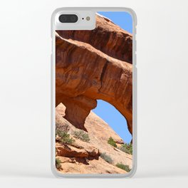 Beautiful Double O Arch Clear iPhone Case