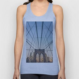 Brooklyn Bridge New York City Unisex Tank Top