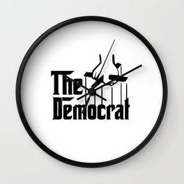 The Democrat Mafia Wall Clock