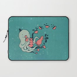 Tea & Tentacles Laptop Sleeve