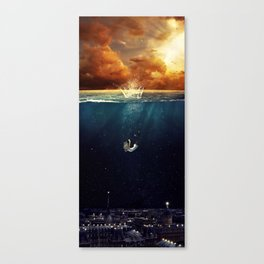 """""""Our Ends Are Beginnings"""" - Limited Print Canvas Print"""