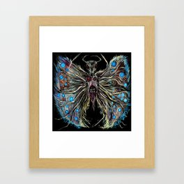 I tried to fly. Framed Art Print