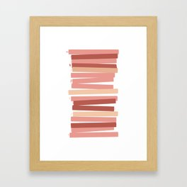 Abstract Speak Framed Art Print