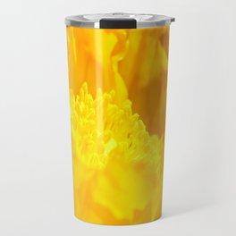 Yellow Poppy 2 Travel Mug