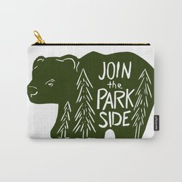 Join the Park Side Bear Carry-All Pouch