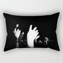 Hands In The Air Rectangular Pillow