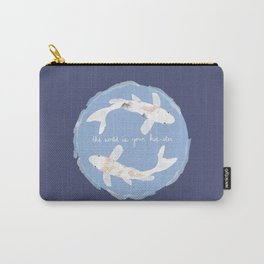 The World Is Your Koi-ster Carry-All Pouch