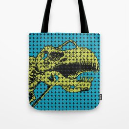 Argentinosaurus Skeleton Tote Bag