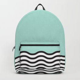 Waves of Green Backpack