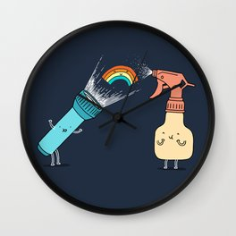 Together we make rainbow Wall Clock