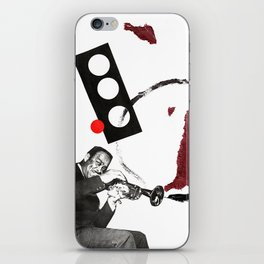 buck clayton on the horn iPhone Skin