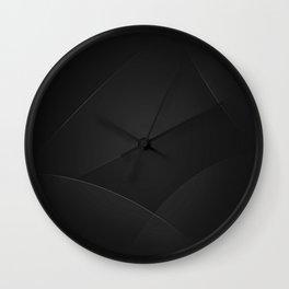 Cod Gray & Mine Shaft Colors Wall Clock