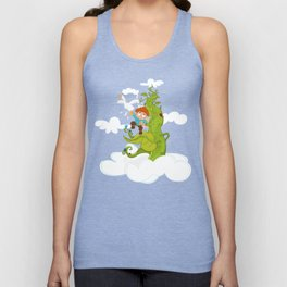 Jack and the Beanstalk Unisex Tank Top