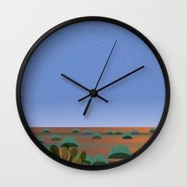 Twilight in the Desert Wall Clock