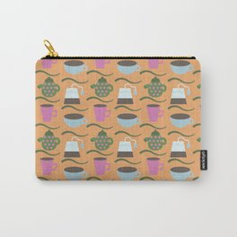 Teatime Print Carry-All Pouch