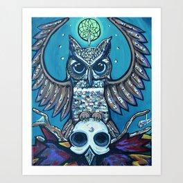 The Owl's Alter Art Print