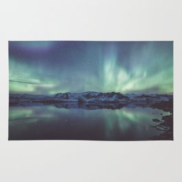 Jokulsarlon Lagoon - Landscape and Nature Photography Rug