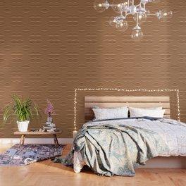 Contour Copper Wallpaper