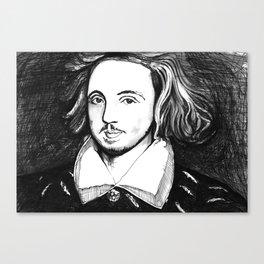 Christopher Marlowe Portrait Canvas Print