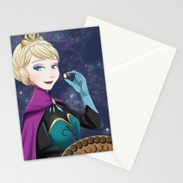 do you want to eat some chocolate? Stationery Cards