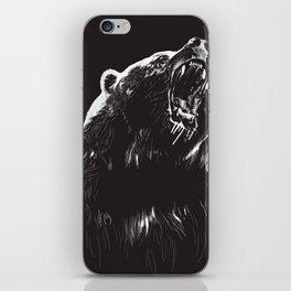Bear, sketch 2 iPhone Skin