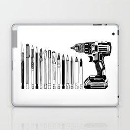 Art Power Tools Drill Bit Set Doodle Laptop & iPad Skin